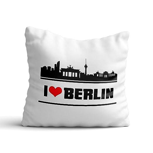 DESIGN82 Berlin Cojín Berlín - haups tadt - Berliner ...