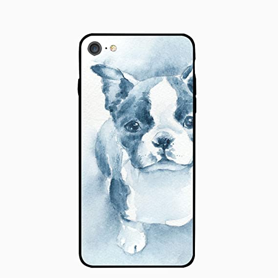 3a5d12c75bf Image Unavailable. Image not available for. Color  Slim Fit iPhone 8 Case iPhone  7 Case Boston Terrier ...