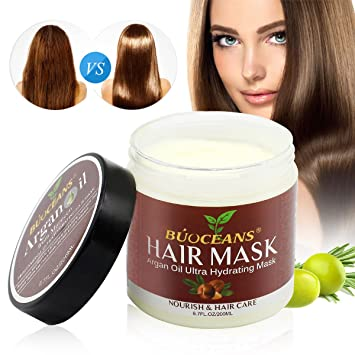 Haarmaske Hair Mask Arganöl Aloe Vera Keratin Ohne Silikon