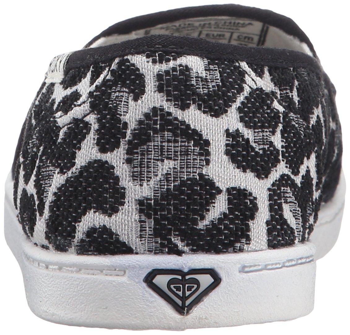 Roxy Women's Lido Iii Slip-on Shoes Flat, Black/Black/Dark Grey, 7 M US by Roxy (Image #2)