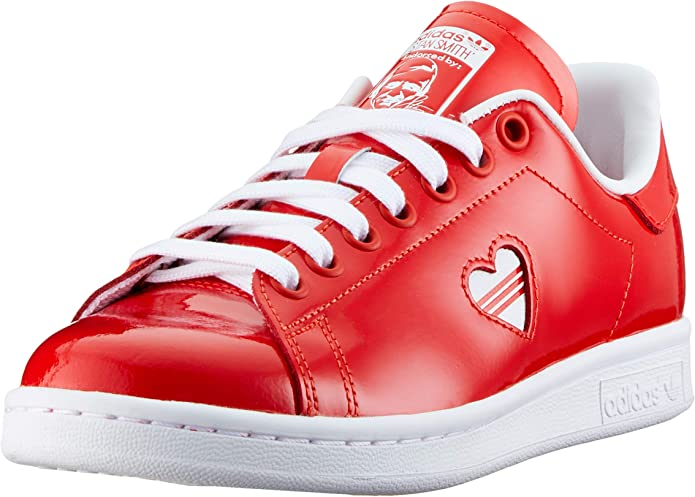 chaussure femme adidas stan smith rouge