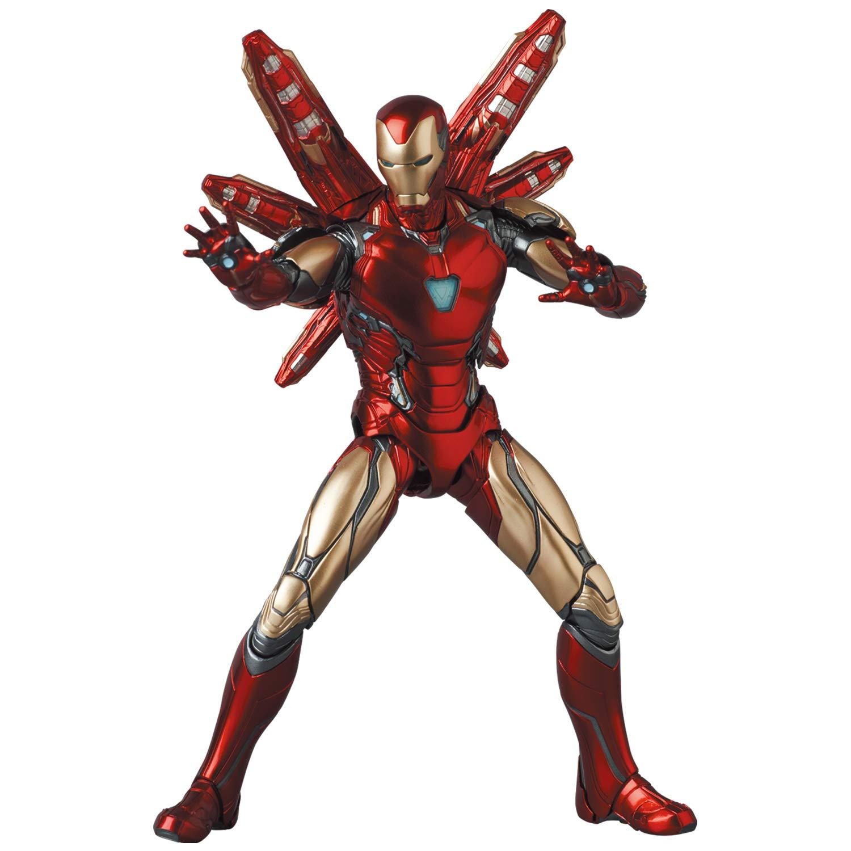 アイアンマン最新モデルが最高のフォルムと抜群の可動領域のアクションフィギュアに!『マフェックス No.136 アイアンマン MARK85 Endgame Ver.』【2021年6月発売!】