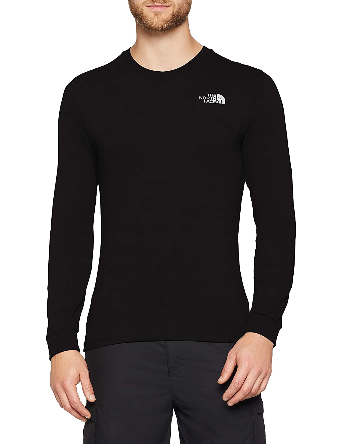 bca58c15e THE NORTH FACE Men's Long-sleeve Simple Dome T-Shirt