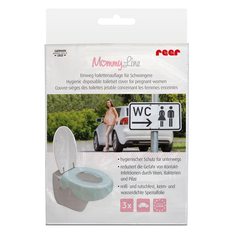 reer 88123 WC-Cover Einweg-Toilettenauflage gr/ün