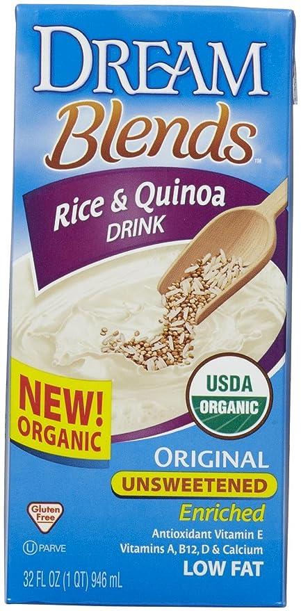 Dream - Original orgánica de la bebida del arroz y de la quinoa sin azucarar -