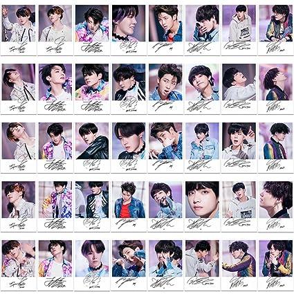 Yovvin, set of 30 BTS photo cards, KPOP, Bangtan Boys, Fake Love, Mini Lomo  Cards, Jungkook, Jimin, V, Suga Jin, J-Hope, Rap Monster, photo cards