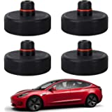 4 Pack Car Jack Lift Pad Adapter Tool Rubber Jack Pads Frame for All Tesla J4E1