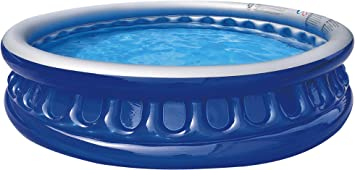 Saica Piscina Hinchable Redonda, Color Azul y Blanco (17395 ...