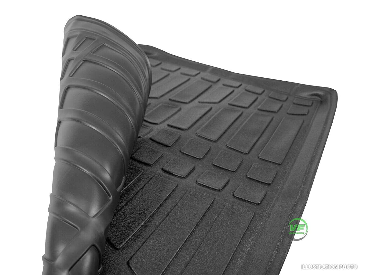 UKB4C Heavy Duty Tailored Fit Boot Liner Tray Car Mat For Mokka 2012-Up