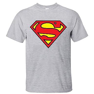 xhots Hombres de Batman Vs Superman Logo Simple manga corta ...