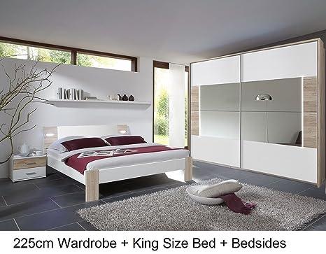 Illuminazione Led Camera Da Letto : Germanica stuttgart mobili per camera da letto 225 cm 2 ante