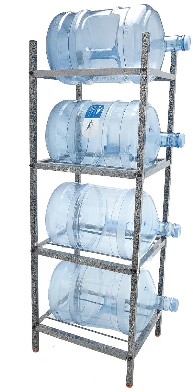 Amazon.com: Bluewave Lifestyle 4 Step Metal Bottle Storage Rack ...
