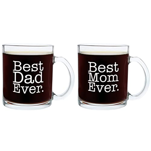 christmas gifts for mom and dad best ever funny fathers day gift glass coffee mug tea