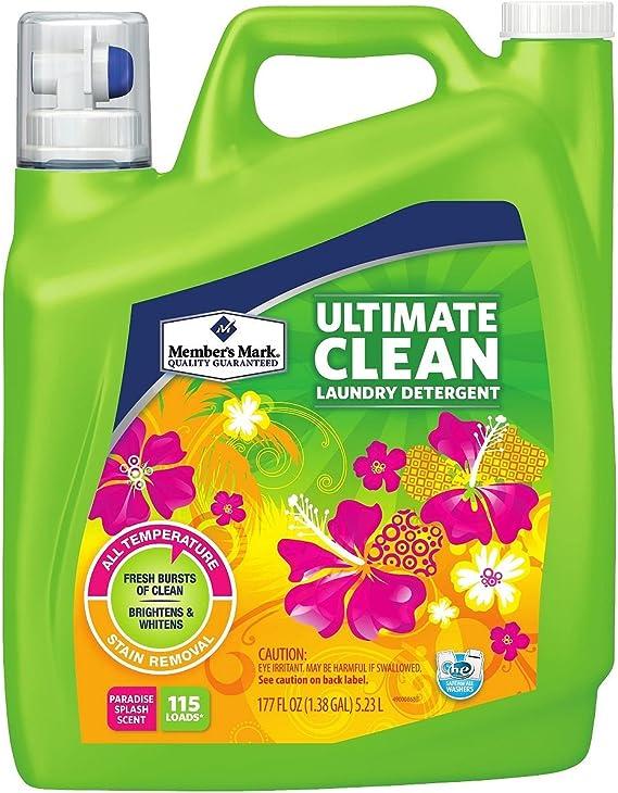 Miembros de la marca último Clean Detergente líquido – paradise Splash (177 ml), 115 cargas) (Pack de 6): Amazon.es: Hogar