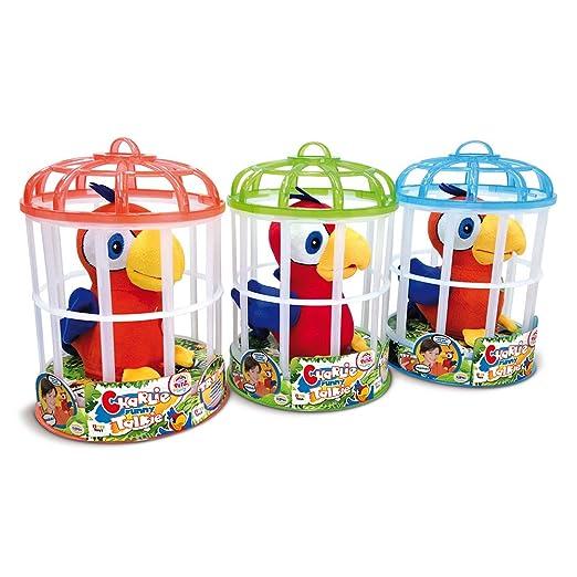 IMC Toys 94215IM - Peluche Club Petz Funny Pappagallo Charlie ...