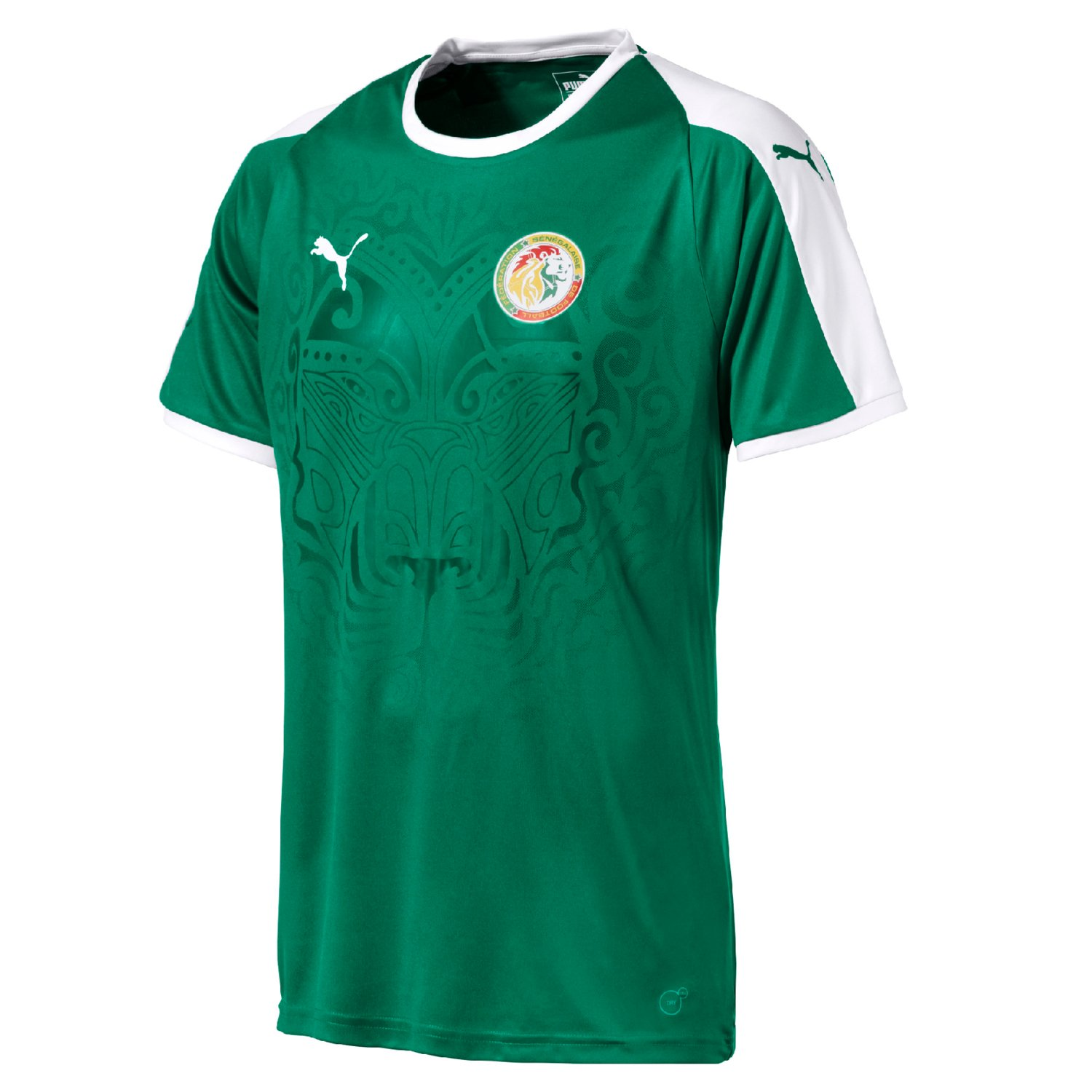 2018-2019 Senegal Away Puma Football Shirt B07CQ7K5ZB グリーン Small