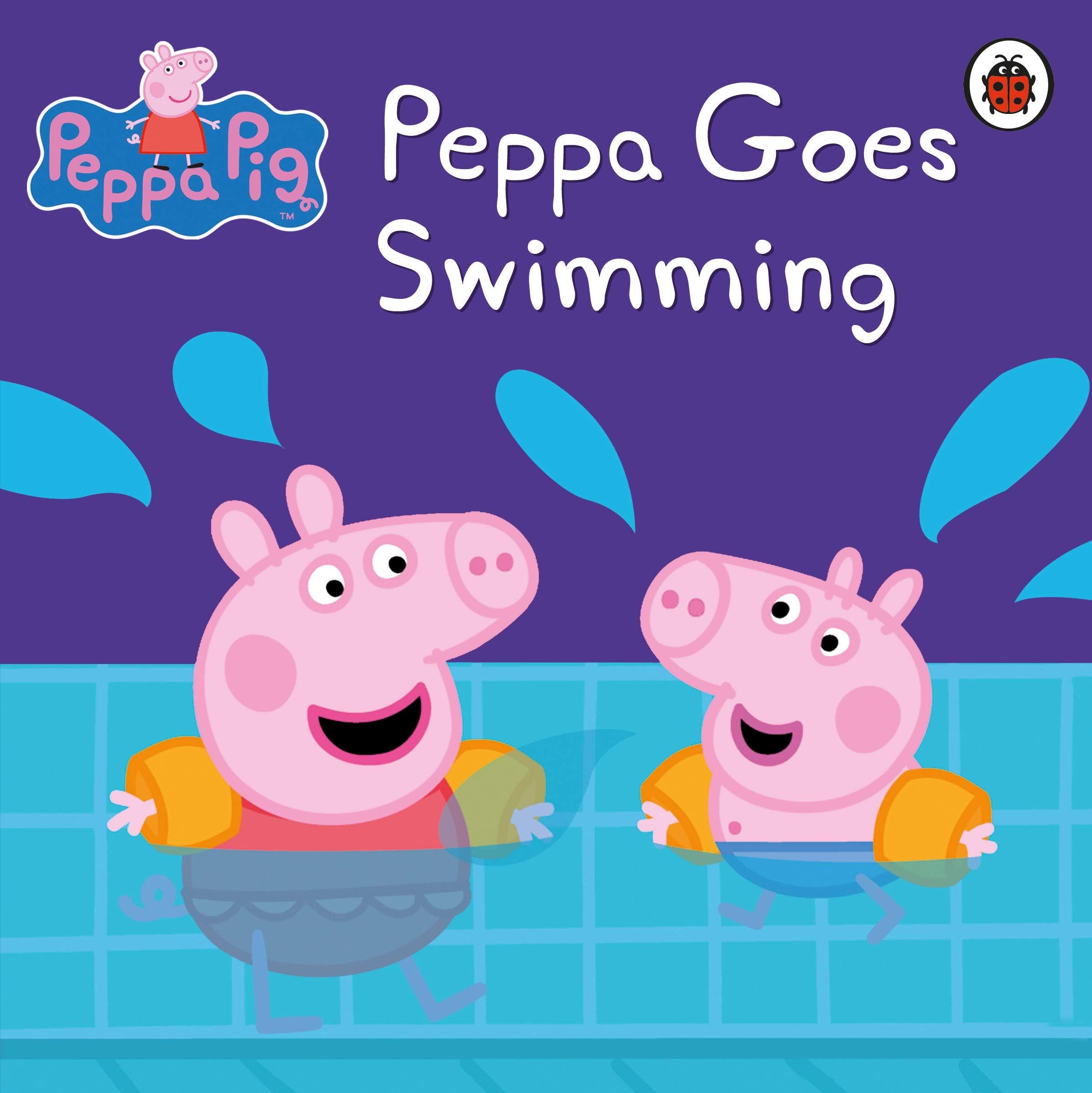 Peppa Pig Peppa Goes Swimming Amazon Co Uk Peppa Pig