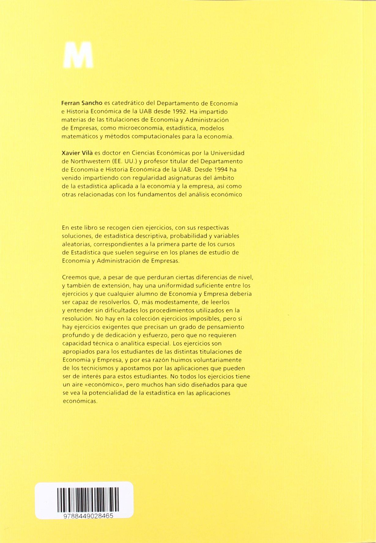 100 ejercicios resueltos de estadstica bsica para economa y empresa materials