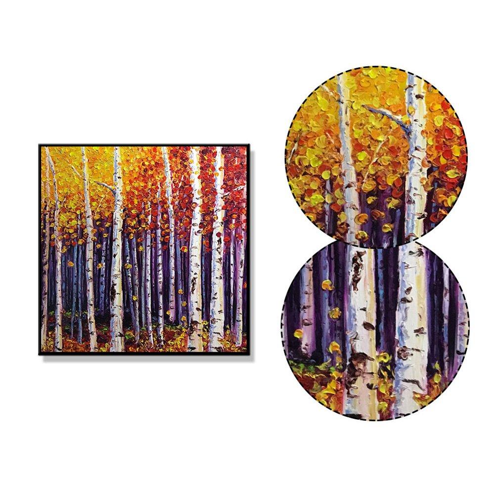 WuWxiuzhzhuo Räumungsverkauf Farbige Zeichnung Wald Malerei ...
