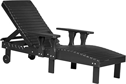 Fantastic Amazon Com Furniture Barn Usa Outdoor Lounge Chair Black Gmtry Best Dining Table And Chair Ideas Images Gmtryco