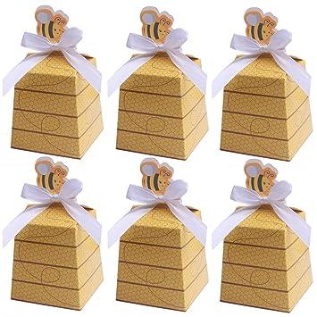 Amazon.com: MeiMeiDa 60 cajas de caramelos de abeja, caja de ...