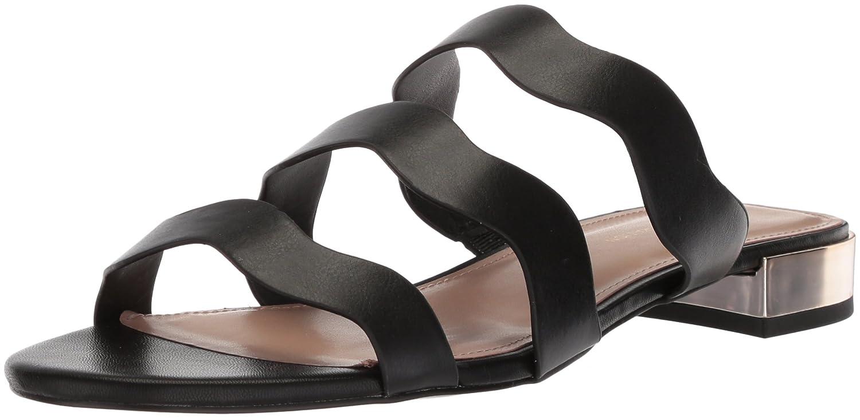 BCBGeneration Women's Dania Flat Sandal B07712D1XD 6 M US|Black