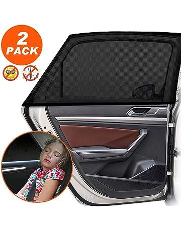2x Universelle Sonnenschutz Auto Baby für Seitenfenster Sonnenblende Autofenster