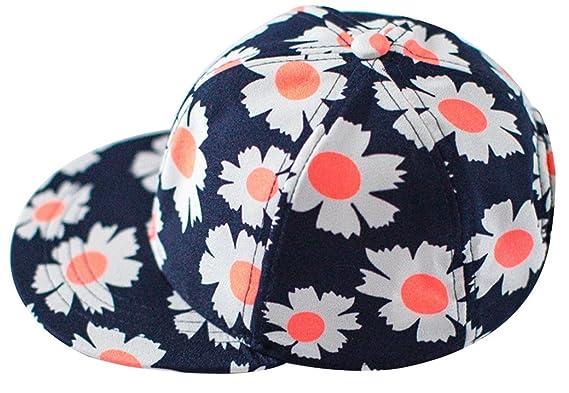 0d9f4a68b26 Happy Cherry Casquette Bébé Enfant Fille Garçon Eté Anti-UV Protection  Chapeau de Soleil Imprimé