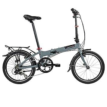 Dahon Faltrad MARINER D7 7 Gang Grau 20 Zoll Klapp Fahrrad Herren Damen Kettenschaltung Bike,