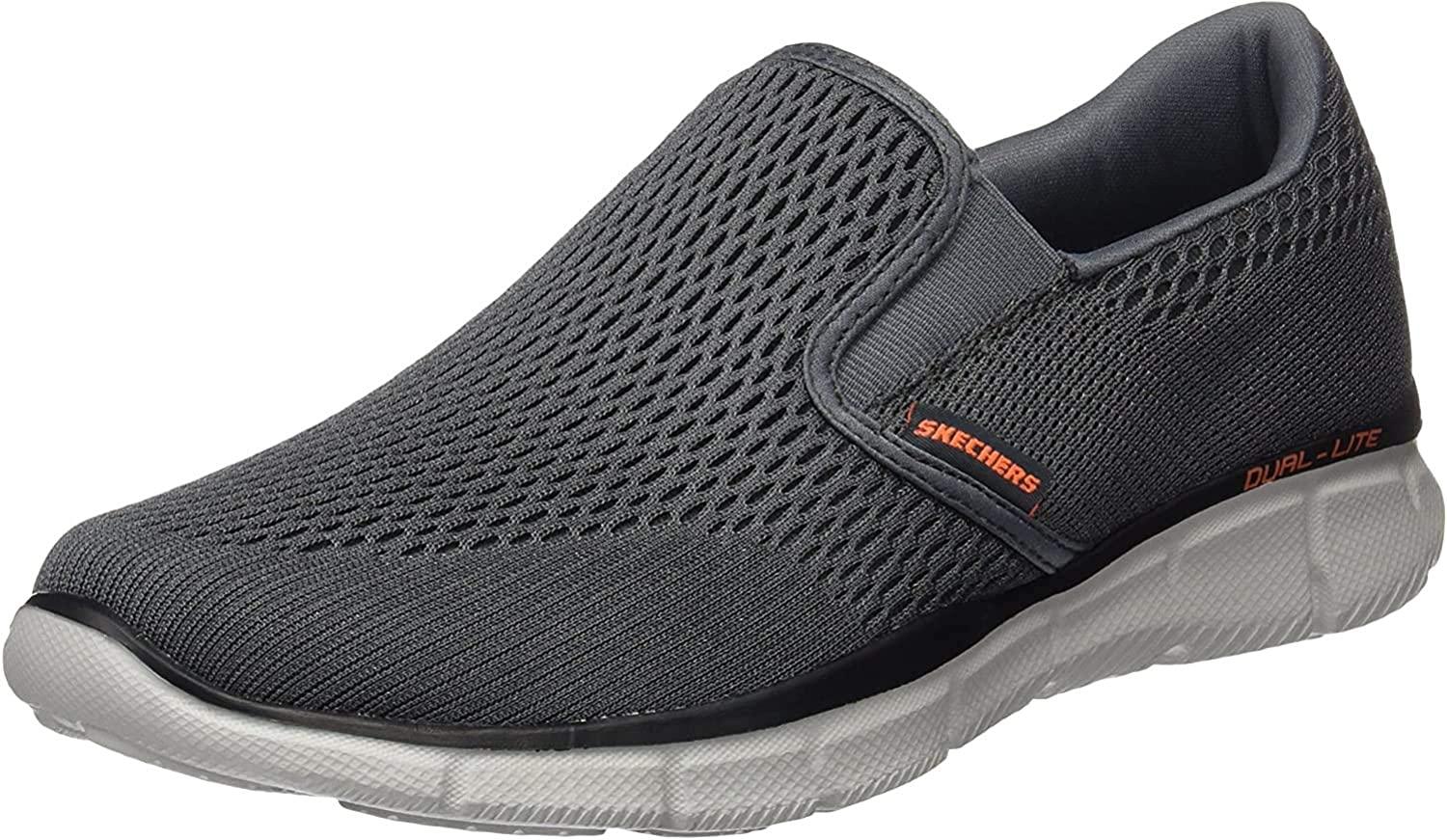 Amazon.com | Skechers Men's Equalizer Double Play Slip-On Loafer | Loafers  & Slip-Ons