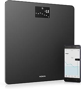 Nokia Body – Báscula WiFi medidora de IMC, negro