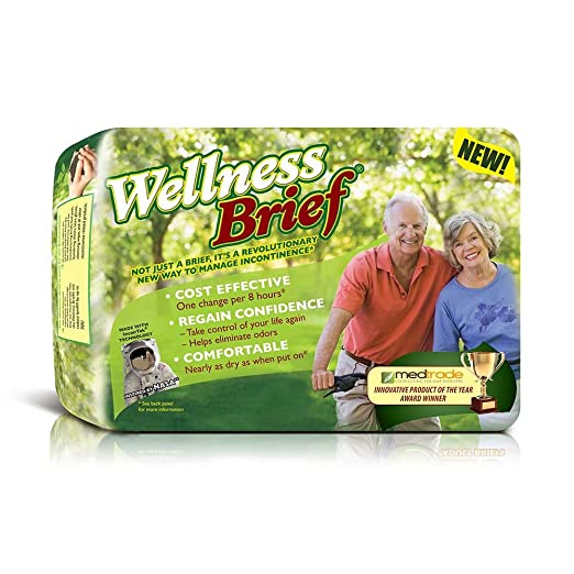 Amazon.com: Wellness Briefs w/ NASA Technology, X-Large, Pack/20: Health & Personal Care