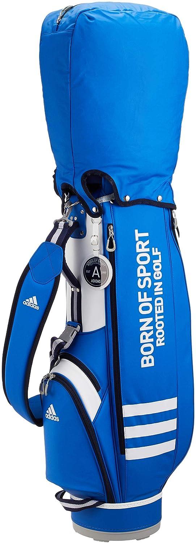 絶妙なデザイン [アディダスゴルフ] キャディバック 3ストライプキャディバッグ AWU47 キャディバック B07GKJ4S7X AWU47 ブルー ブルー ブルー, コレクションケースのお店:49e25326 --- kuoying.net