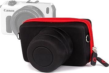 DURAGADGET Funda/Estuche Rígida para Canon EOS M | M10 | M2: Amazon.es: Electrónica