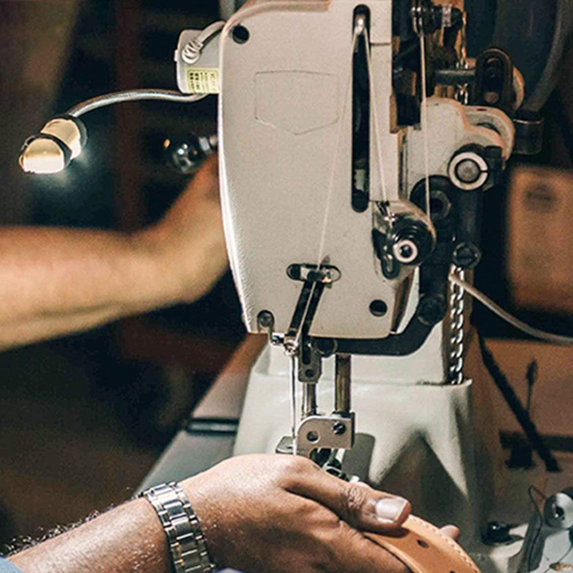 Máquina de coser portátil Luz LED 12LED Base de montaje magnética ...