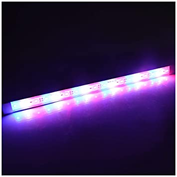 LTRGBW SMD 5730 12V DC 7.2W 18LED super brillante coralino del acuario LED Light Strip ...