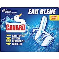 Eend WC Feebee blok kleurstoffen azuurblauw water 2 CT 80 g - Lot de 4