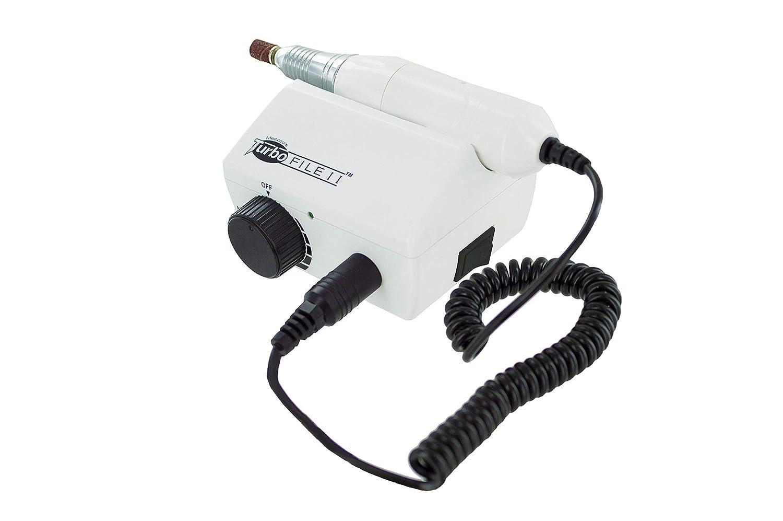Medicool TurboFile II Electric Nail File -White Lightweight 20,000 RPM Quiet No Vibration Locking Chuck 3/32 Tools   TURBOFLEII