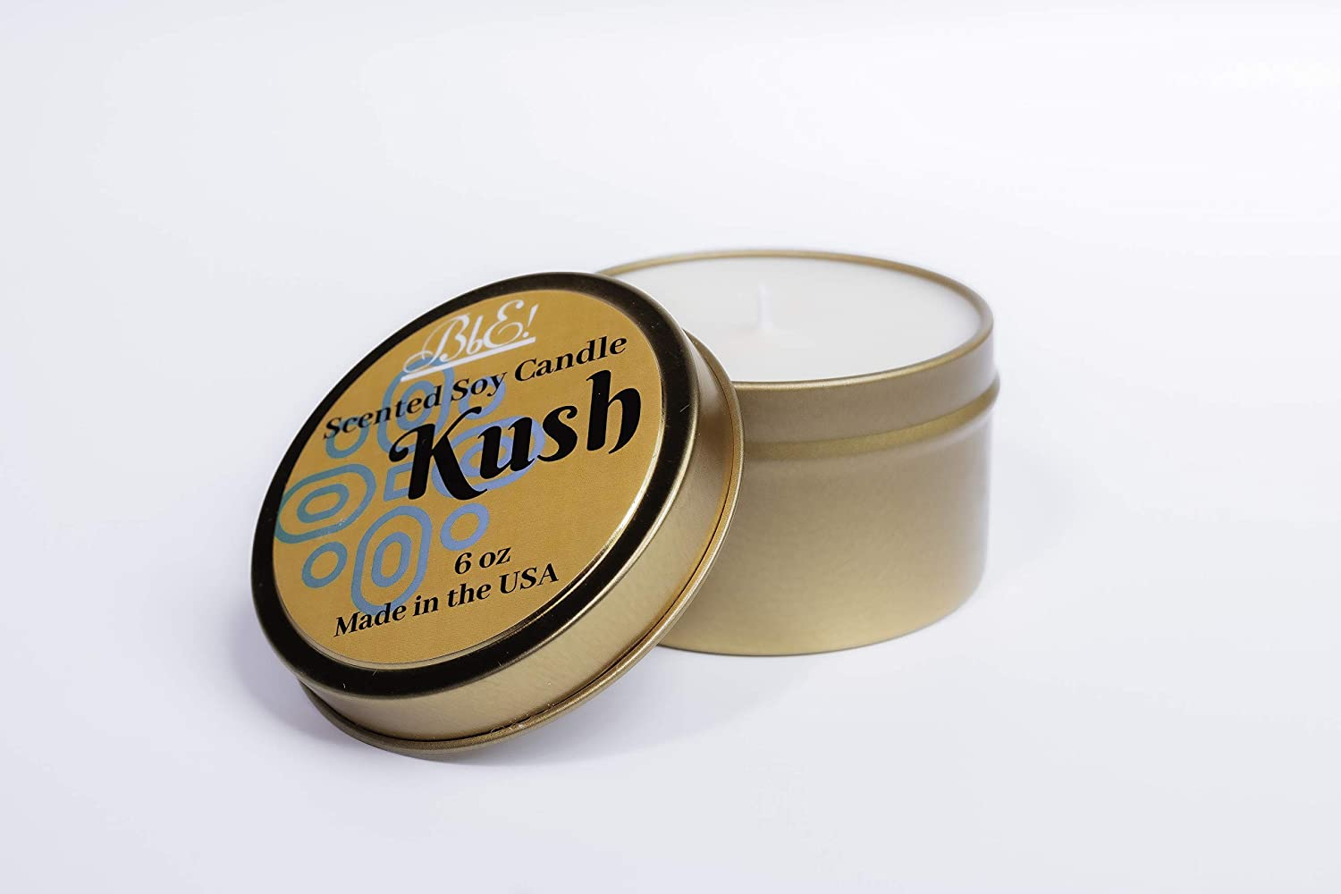Beautiful by E! Kush Scent Gift or Travel Scented Soy Candle