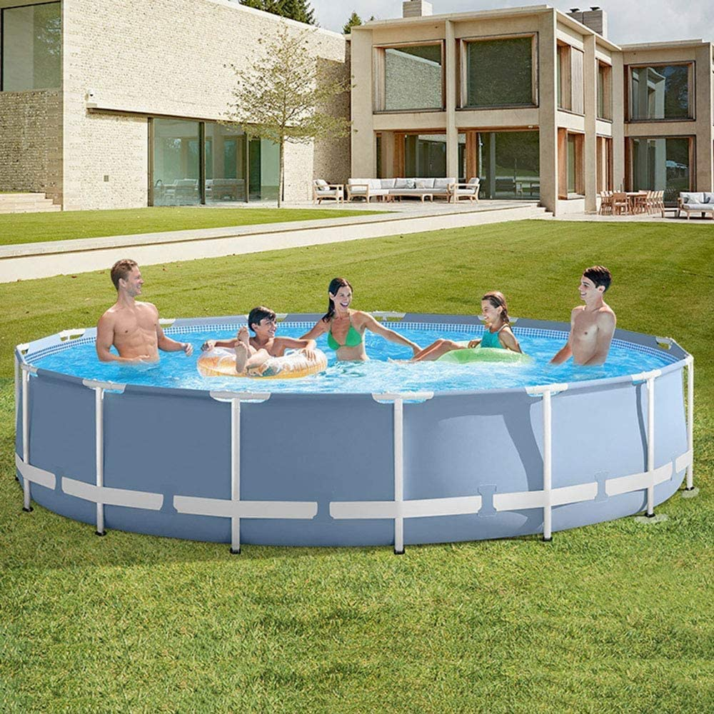 XLBHSH 120″×30″ Above Ground Metal Frame Pool
