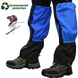 Emooqi 1 Paio Ghette Trekking Impermeabili per Escursione/ Esterna Trekking/ Campeggio Impermeabile Escursioni Arrampicata Caccia