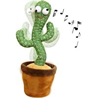Wriggle Dancing Cactus Repeat What You say and Sing Electronic Plush Toy Decoration for Kids Funny Early Childhood…