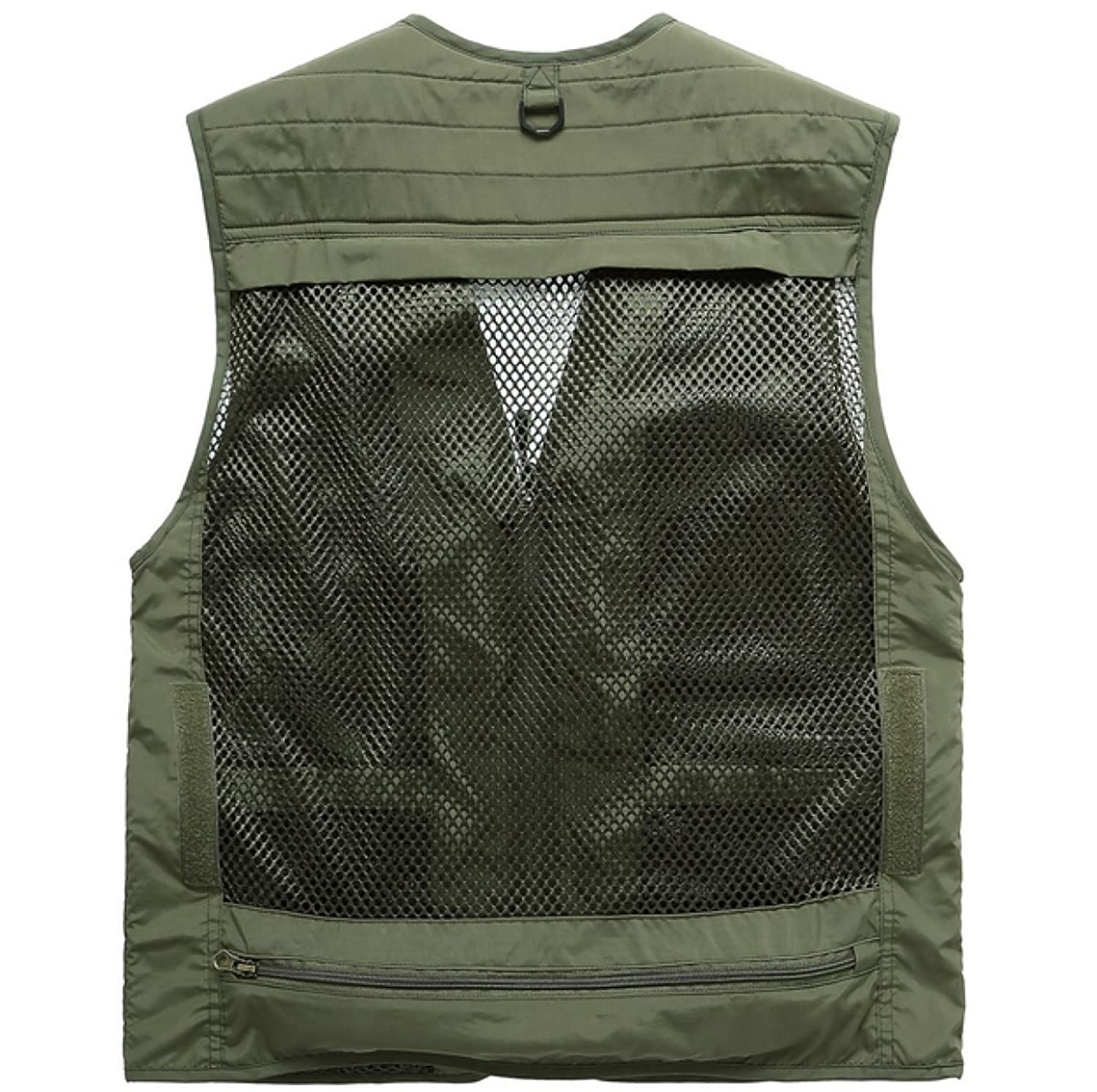 Casual Outdoor Vest Muti-Pockets Leisure Jacket Fishing Photography Journalist