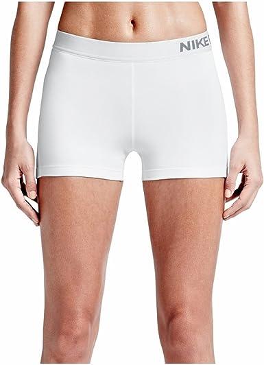 white nike pro shorts womens