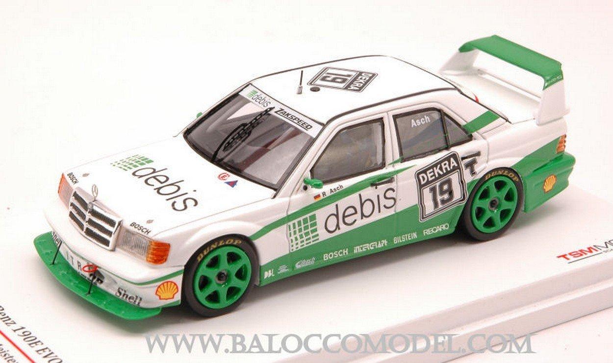 True Scale Miniatures TSM124348 Mercedes 190E EVO2 N.19 DTM 1991 R.ASCH 1:43