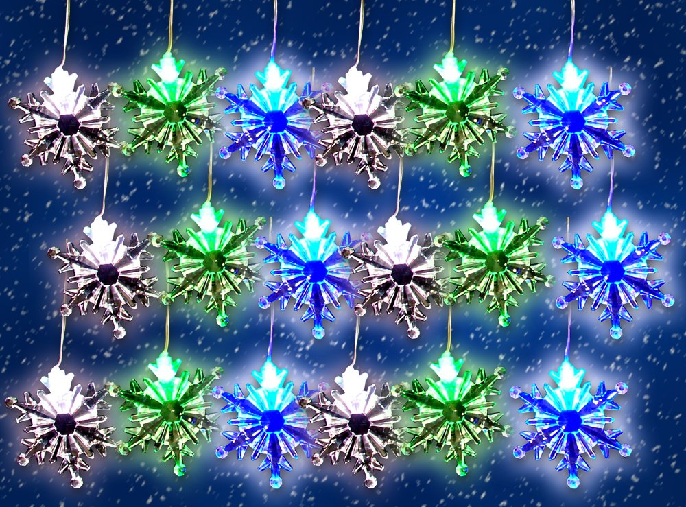 Image result for Color-Changing LED Snowflake Light
