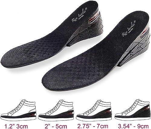 Men Women Increase Height High Insoles Shoe Inserts Cushion Pad 3cm//5cm//7cm