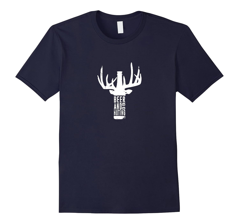 Beer And Go Huting T-shirt-Vaci
