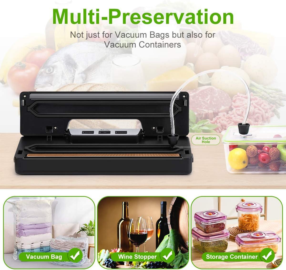 L/égume et Fruit etc Appareil Sous Vide pour Viande Aitsite Machine Sous Vide Alimentaire Machine de Scellage en Acier Inoxydable