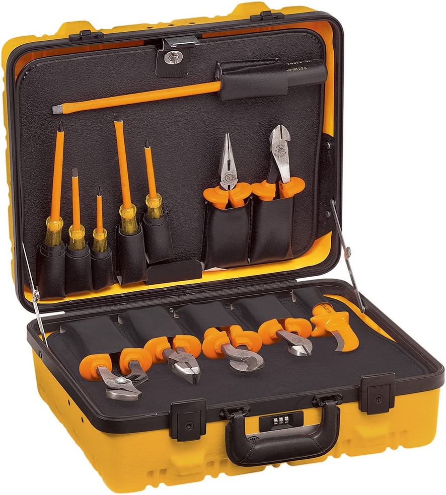 Klein Tools Insulated Utility Tool Kit, 13-Piece 33525